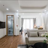 Căn hộ studio có không gian xanh yên tĩnh, tươi mát 45m2 bao phí quản lí và full nội thất gia đình