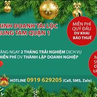 Cho thuê địa chỉ đăng ký kinh doanh tài lộc tại Vincom Đồng Khởi, tặng ngay 2 tháng trải nghiệm