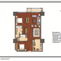 Bán căn hộ 2 phòng ngủ, diện tích 104m2 khu đô thị Royal City, giá hot 3,85 tỷ