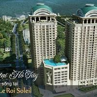 Căn Vip 2PN, 2WC, tầng cao view Hồ Tây, giá rẻ tại D'. Le Roi Soleil, đầu tư cho thuê lợi nhuận cao