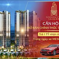 Sunshine City Sài Gòn TT chỉ 25% nhận nhà (996tr), vay 0% lãi suất 24th, CK đến 9%