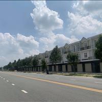 Nhà mặt tiền đường nhựa 32m, 2 lầu 1 trệt, dân cư đông