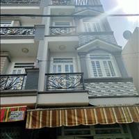 Nhà hẻm 4 tấm đúc Bình Hưng Hòa A, Bình Tân, tặng hết nội thất, gần Bốn Xã, nhà đẹp, hẻm thông
