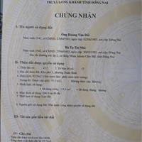 Cần bán nhà tại khu phố 3, Xuân Bình, Long Khánh, Đồng Nai, giá tốt