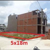 Chính chủ, đất Củ Chi, đường Hương lộ 2, xã Tân Phú Trung, diện tích 5x18m góc 2 mặt tiền, 700tr