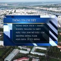 Bán 546m2 đất mặt tiền bờ hồ Bún Xáng - trường đại học Cần Thơ - 25 tỷ