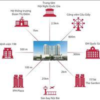 Mipec Rubik 360- chỉ 2,5 tỷ, 2 phòng ngủ full nội thất cao cấp, hỗ trợ vay lãi 0%, chiết khấu 6%