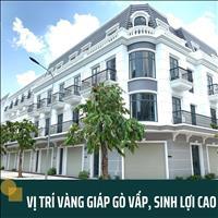 Bán nhà phố mặt tiền, view sông khu biệt thự phố Sài Gòn Thới An Pier IX, giá 5.4 tỷ