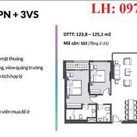Độc quyền phân phối tầng 6 và 17 dự án căn hộ cao câp tại mặt đường Xuân Thủy, Cầu Giấy