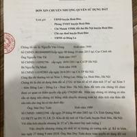 Bán đất chính chủ tại Xóm 5, Thôn Đông Lao, Đông La, Hoài Đức, Hà Nội