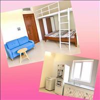 Phòng cho thuê giá rẻ 35m2 full nội thất, có gác