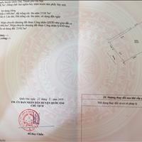 Đất cực hiếm 2718m2 mặt đường, view hồ Hòa Thạch, 400m2 thổ cư, 4.2 triệu/m2