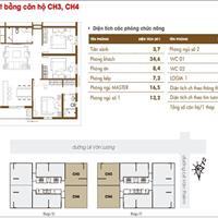 Bán căn hộ chung cư HACC1 (Times Tower Lê Văn Lương), vào tên trực tiếp chủ đầu tư, cắt lỗ