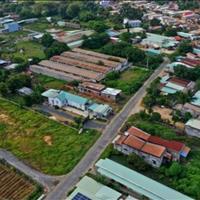 Cuối năm kẹt tiền bán lô mặt tiền 20m đất thị trấn Hậu Nghĩa, Đức Hòa 124m2, giá 450 triệu