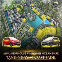 Vinhomes Ocean Park - Thành phố biển hồ hiện đại ngay lòng Thủ đô - Tặng xe Vinfast Fadil 350 tr