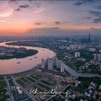 Căn hộ 4PN tháp Brilliant Đảo Kim Cương, căn duy nhất balcony bao quanh view Panorama sông Sài Gòn