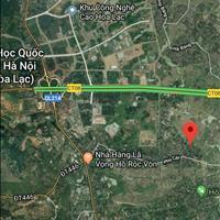Thổ cư Phú Cát 300m2, cách DH09 10m giá 1.1 tỷ
