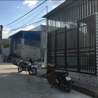 Nhà được xây kiên cố gần ngã tư Quang Thắng, hướng Đông