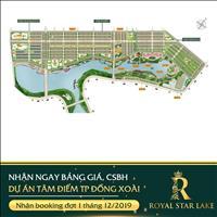 Nhận booking vị trí đẹp chỉ 50 triệu/nền dự án Royal Star Lake