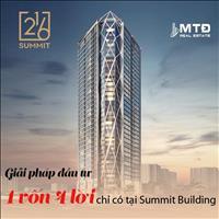 Đầu tư siêu lợi nhuận dự án Summit Building 216 Trần Duy Hưng