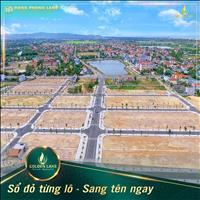 Hot - đất nền Golden Lake - Bắc Đồng Hới giá rẻ nhất thị trường - đầu tư ngay