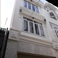 Bán nhà hẻm 1 trục đường số 9, phường 9, Gò Vấp, 4 x 8m, 1 trệt và 2 lầu mới, đẹp