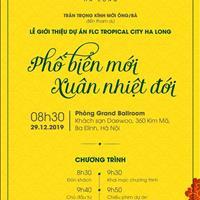 Bán đất dự án FLC Tropical Hà Khánh, Hạ Long giá đầu tư chỉ từ 1,3 tỷ/lô view biển