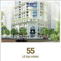 Căn hộ view hồ giữa lòng Hà Nội chỉ 7.8 tỷ/3PN chỉ có ở chung cư HDI Tower 55 Lê Đại Hành, CK 100tr