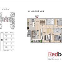 Bán căn hộ chung cư cao cấp The Zei 3PN, 107m2, bàn giao thô chỉ 3.6 tỷ view ra biệt thự HD Mon