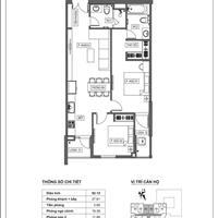 Bán căn hộ chính chủ tên tôi tòa nhà Hải Phát 105 Hà Đông, giá 1.8 tỷ