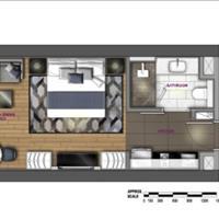 Căn hộ 1 phòng ngủ tầng 18 view Đông Bắc giá tốt nhất, Wyndham Soleil Đà Nẵng 2,3 tỷ đã VAT 36m2