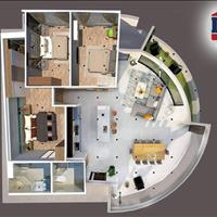 Bán căn hộ 3 phòng ngủ 2WC, diện tích 138m2, chung cư Gateway Vũng Tàu, giá 3 tỷ 200 triệu