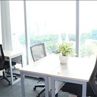 Suất duy nhất, phòng làm việc trọn gói 7-8 người tại tầng 18 tòa nhà Vincom Đồng Khởi