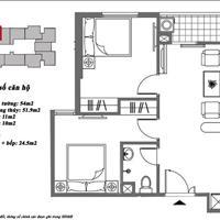 Bán căn 52m2 2 phòng ngủ giá 805 triệu tại Mipec Kiến Hưng Hà Đông