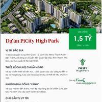 Mở bán căn hộ dự án Pi City High Park Thạnh Xuân, Quận 12, view đẹp