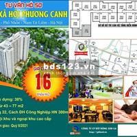 Bán căn hộ quận Nam Từ Liêm - Hà Nội giá 250 triệu