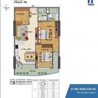 Chuyển nơi công tác cần bán căn hộ chung cư Tràng An Complex Cầu Giấy, Hà Nội