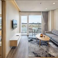 Cho thuê căn hộ 1PN tách biệt 50m2 góc 3 mặt tiền view biển, view phố thoáng mát, chỉ 9,5 tr/tháng