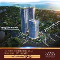 Sở hữu căn hộ 4 mặt tiền ngay quảng trường Quy Nhơn - Grand Center - CK tới 18% - Hỗ trợ LS 0%