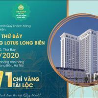 Ngoại giao căn hộ TSG Lotus Long Biên - Chiết khấu lớn giá chỉ từ 1,890 tỷ hỗ trợ vay 0% lãi suất