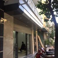 Cho thuê nhà nguyên căn làm văn phòng, 55m2 x 6 tầng, thang máy, đủ điều hòa, nhà mới, giá 33 triệu