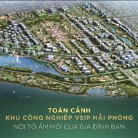 Bán nhanh lô góc cực đẹp, cực hiếm và duy nhất ở trung tâm hành chính mới Bắc Sông Cấm, Hải Phòng