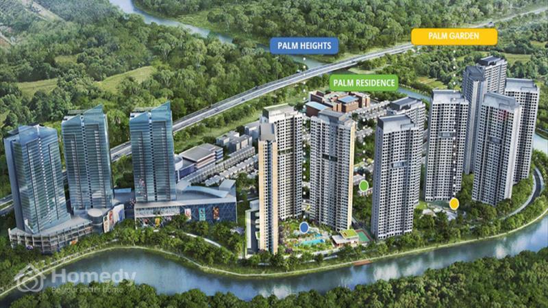 Dự án căn hộ Palm Garden - Khu đô thị Palm City - ảnh giới thiệu