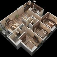 Bán nhanh căn góc 3 phòng ngủ 2 vệ sinh, 2001 - 101m2 Roman Plaza, 26 triệu/m2, có gia lộc, liên hệ