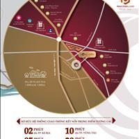 Đất nền sổ đỏ TT hành chính Bà Rịa Vũng Tàu, chỉ từ 1,3 tỷ/nền, CK tới 12%, cam kết mua lại 12%/năm