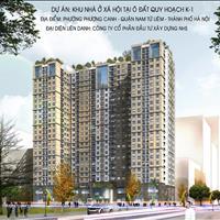 Bán căn hộ nhà ở xã hội NHS Phương Canh, quận Nam Từ Liêm - Hà Nội giá 300 triệu