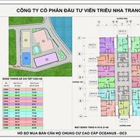 Bảng hàng tòa OC3 Mường Thanh Viễn Triều vừa mới bàn giao giá gốc từ chủ đầu tư