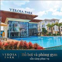 Biệt Thự   Verosa Park, 1 Trệt 3 Tầng. Chiết khấu 18%/năm, Lãi suất 0% 24 Tháng. DT 10X19M.
