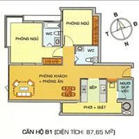 Bán căn hộ Hoàng Anh Gia Lai 1, 357 Lê Văn Lương Quận 7, 2 phòng ngủ, 2 WC, căn bìa view đẹp