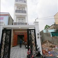 Nhà mới 4 tầng phường 13 Bình Thạnh, khu gần bờ sông, cách mặt tiền Bình Lợi chỉ 30m, sổ hồng riêng